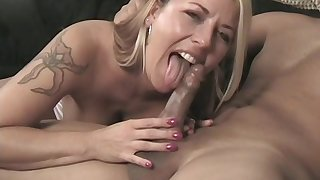 Check a investigate pussy licking blonde milf wants to reach orgasm with a dude