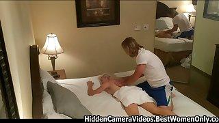 Hot Massage Ends Into Hard Sex Hidden Cam Voyeur