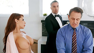 Horny amah is available down anal fuck housewife